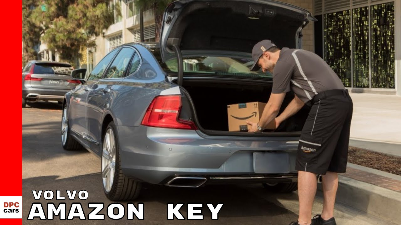 Volvo Amazon Key In-Car Delivery