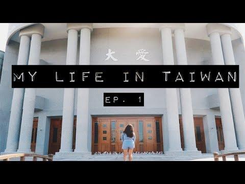 studying abroad in taiwan! 🛫📚 || life in taiwan vlog ep. 1