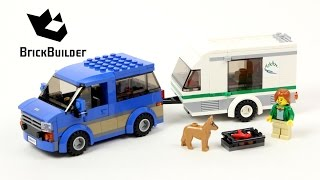 Lego City 60117 Van & Caravan - Lego Speed Build
