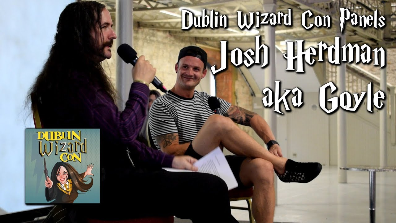 Josh Herdman Aka Goyle From Harry Potter Interview At Dublin Wizard Con Youtube Through that door is the entrance to the forbidden city, your grace, the palace is the largest building in the city. thank you, harry replied, opening the door. josh herdman aka goyle from harry potter interview at dublin wizard con