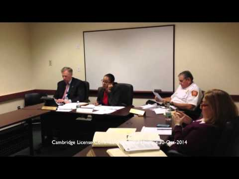Felipe's Taqueria - Cambridge License Commission General Hearing October 30, 2014 at 3:00pm