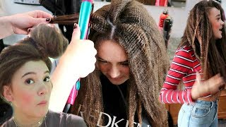 I Style 80s Crimped Hair... FionaFrills