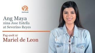 PANOORIN: Pag-awit ni Mariel De Leon ng 'Ang Maya'