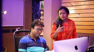 Download KANNAANA KANNEY FEW RAW SONG MAKING FOOTAGES  FROM VISWASAM