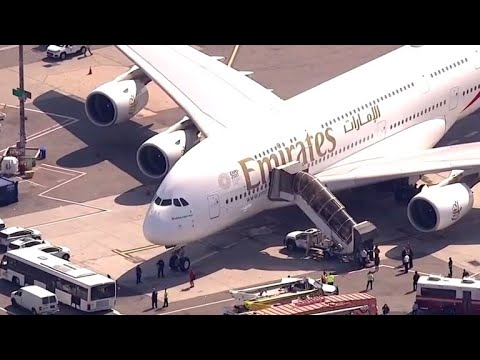 Emirates flight quarantined in New York over sick passengers