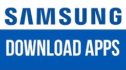 How to Download Apps in Samsung Tablet