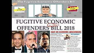 Fugitive Economic Offenders Bill, 2018