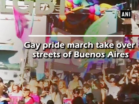 Gay pride march take over streets of Buenos Aires - Argentina News