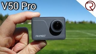 Akaso V50 Pro Action Camera Review & Sample Videos - Real 4K