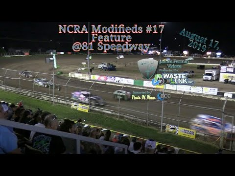 (NCRA) Modifieds #76, Feature, 81 Speedway, 08/17/19