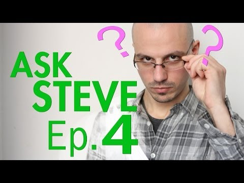 Ask Steve Ep.4 - H4n Questions, Depth of Field, Recording Audio
