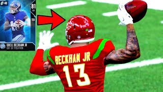 OBJ at QUARTERBACK! ALL OUT OF POSITION TEAM! Madden 19 Ultimate Team