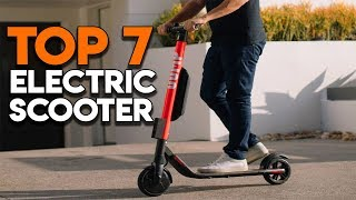 Top 7 Best Electric Scooters of [2019]
