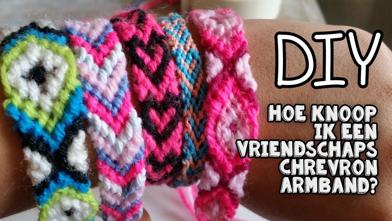 Fabulous DIY Chevron Vriendschaps Armband Knoppen ♥ Leer De Basis ♥ - YouTube ZT73