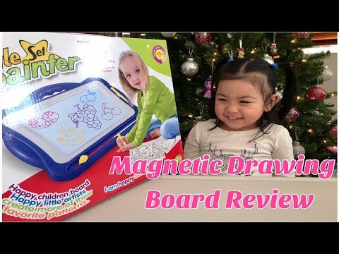 ANTAPRCIS MAGNETIC DRAWING BOARD REVIEW| Magna Doodle Etch Sketch