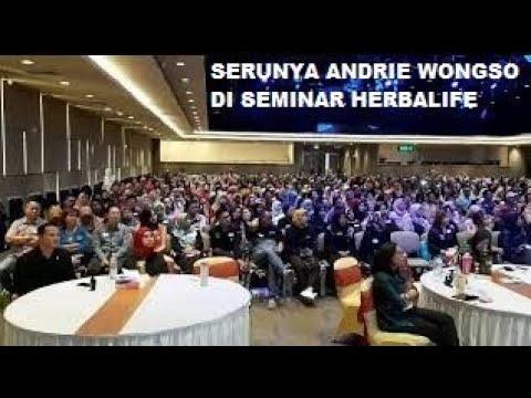 Motivator Nomor Satu  Indonesia Andrie Wongso Tampil Memukau di Acara Herbalife