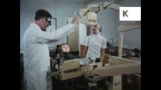1970s Dentist Checkup, Man, Teeth, Colour Archive Footage