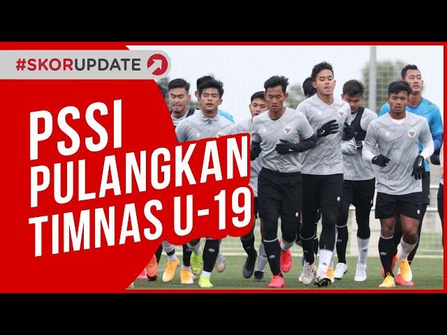 TIMNAS INDONESIA U-19 DIPULANGKAN DARI SPANYOL !!!