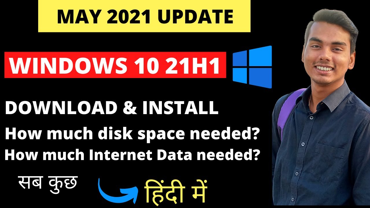 Download Windows 10 21h1   How to Download & Update Easily Step-by-Step