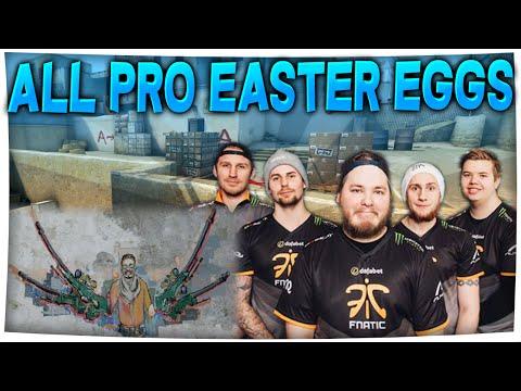 CS:GO - All PRO EASTER EGGS! (Hidden Secrets in CS:GO)