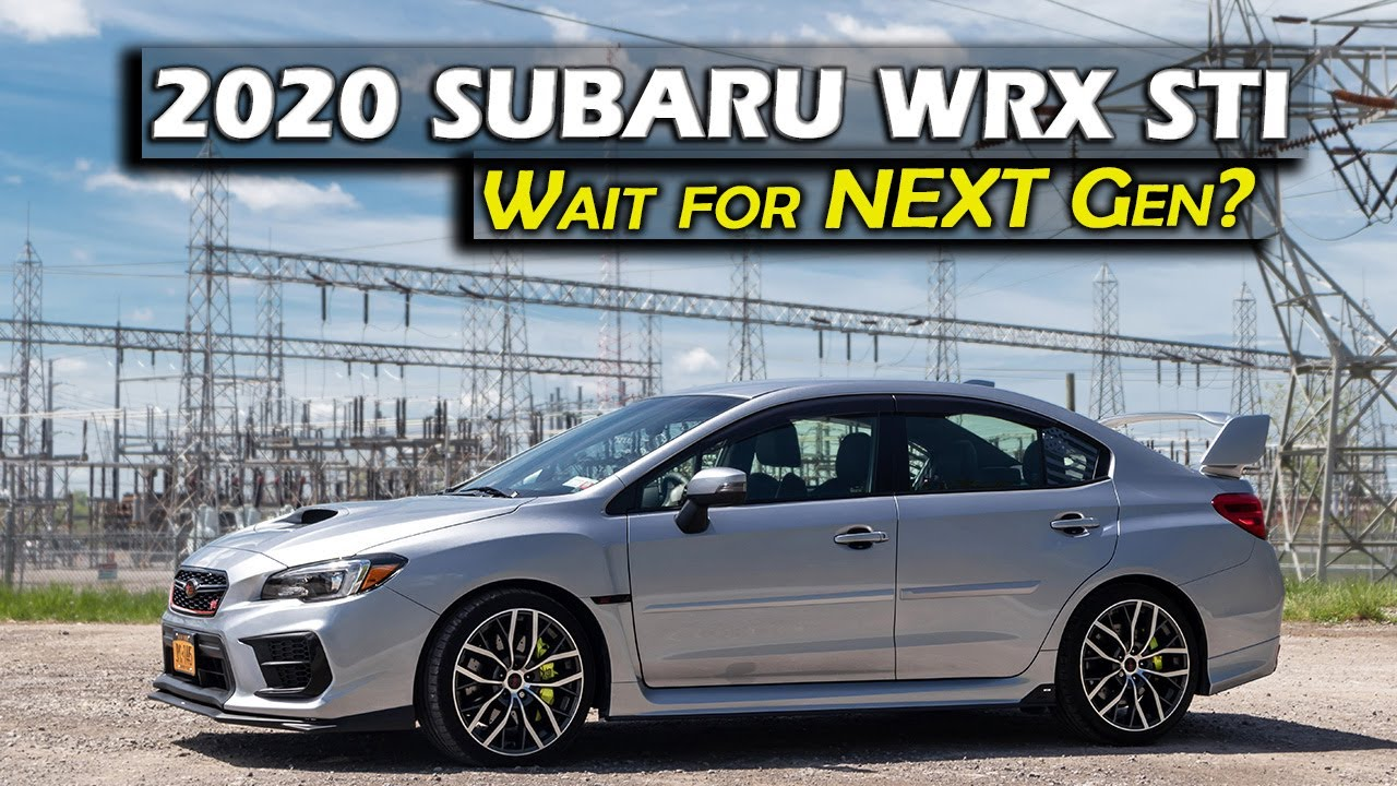2020 Subaru STI:  Why I didn't wait for the next gen STI