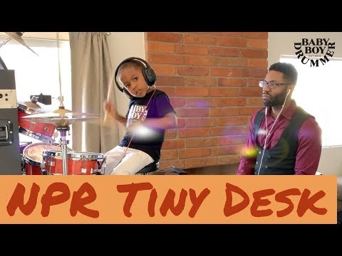 LJ and Daddy -  Big Funk - NPR Tiny Desk contest