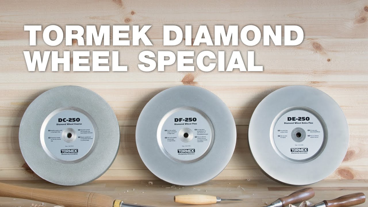This is why we love diamonds   Tormek Diamond Wheel Special