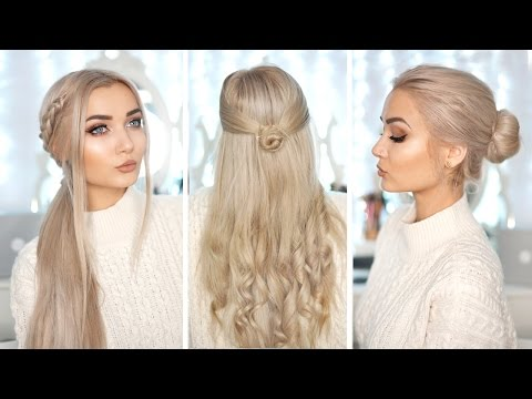 3 Cute & Easy Hairstyles With Hair Extensions