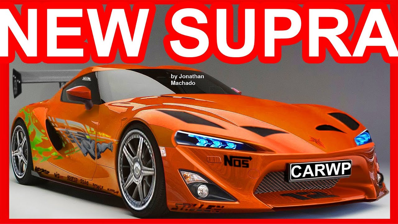 Toyota Ft 1 Concept Price >> PHOTOSHOP New 2018 Toyota Supra Paul Walker Tribute @ FT-1 Concept #SUPRA - YouTube