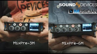 Introducing the MixPre-3M & MixPre-6M Multitrack Recorders for Musicians