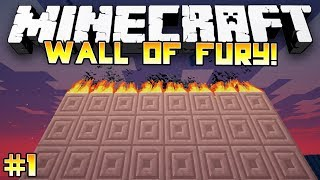 Epic Parkour Map! - Minecraft: WALL OF FURY! w/Preston & Friends! - #1