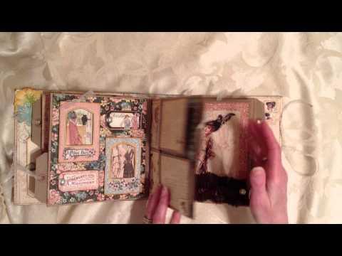 A Ladies Diary, Double Paper Bag Page Mini Album
