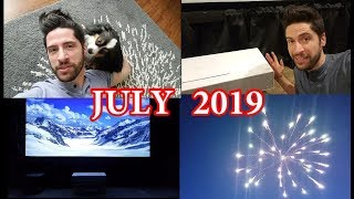 July 2019 - Journal/Vlog
