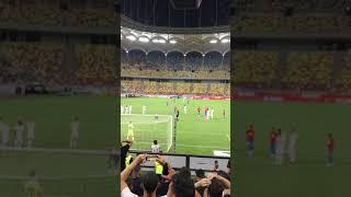 Golul lui Gnohere din Penalty Peluza Ros-Albastra