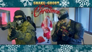Snake and Ghost Save Christmas