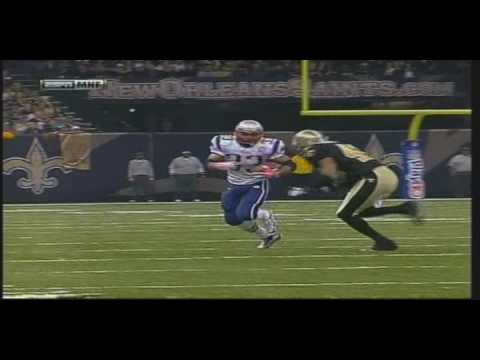 Darren Sharper hits Kevin Faulk