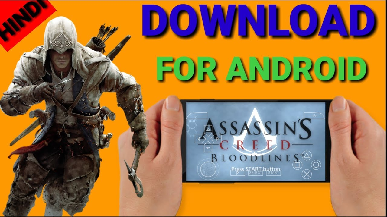 Download Assassin S Creed Bloodlines For Android Psp In Hindi