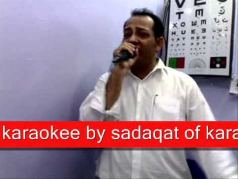 karaokee by sadaqat of karachi
