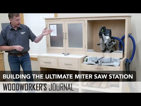 Build the Ultimate Miter Saw Station - Project Overview