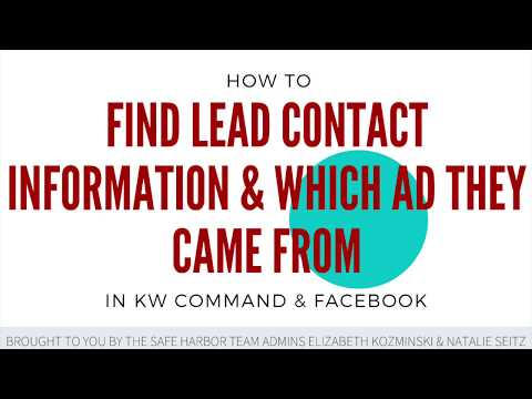 Find Leads in Command & See Which Campaign They Came From | KW Command 👀
