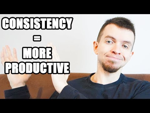 Productivity Tip: Consistency is KEY!
