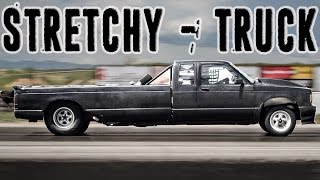 1200hp Twin Turbo STRETCHY TRUCK!