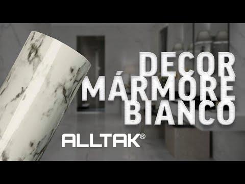 Conheça o Lançamento ALLTAK DECOR - MÁRMORE BIANCO