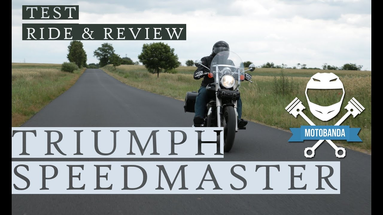 Triumph Speedmaster Sportowy Cruiser Video Test Ride Review