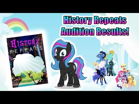 History Repeats Voice Actor Audition Results