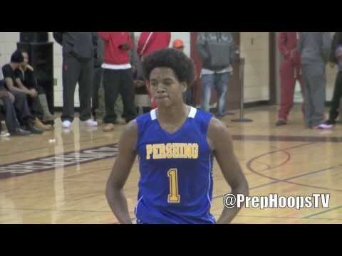 VCU Ram commit Justin Tillman 2014 Detroit Pershing at the Roundball Classic