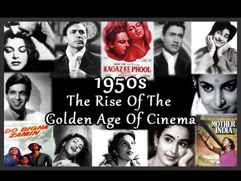 100 Years Of Bollywood  1950s : The Rise Of The Golden Age Of Cinema