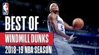 NBA's Best Windmill Dunks   2018-19 NBA Season   #NBADunkWeek