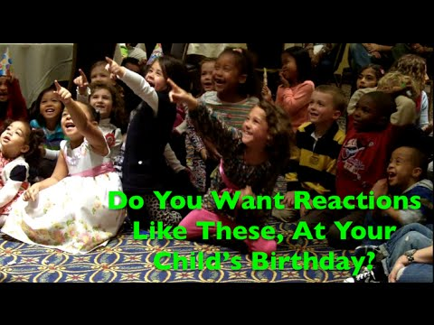 Rhode Island Magicians Birthday Party Ideas By Domino The Great