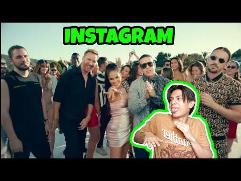 Instagram - Dimitri Vegas, Like Mike, David Guetta, Daddy Yankee, Afro Bros, Natti Natasha/Reacción Mp3